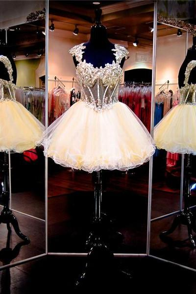 Cheap homecoming dresses 2017,Yellow Prom Dress,Short Prom Dress,Junior Prom Dress,Cheap Prom Dress,Prom Dress 2017,Lace Prom Dress, Sexy Prom Dress, Yellow Homecoming Dress, 8th Grade Prom Dress,Holiday Dress,Yellow Evening Dress, Short Evening Dress,Formal Dress, Lace Homecoming Dresses, Graduation Dress, Cocktail Dress, Party Dress