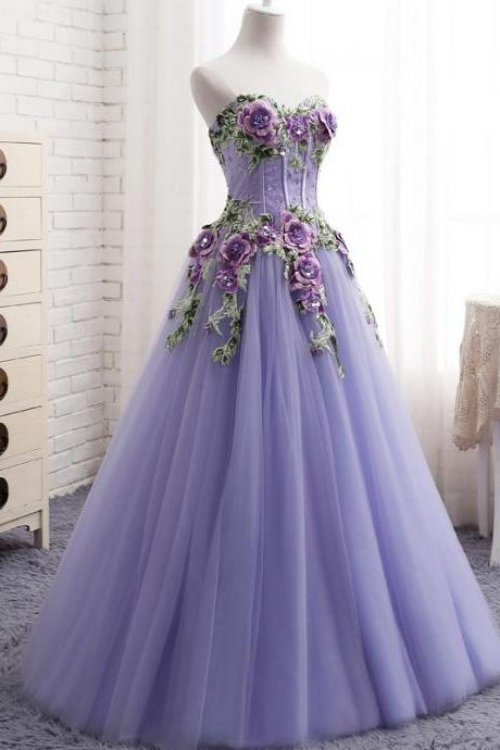 Cheap prom dresses 2017,Evening Dress 2017 New Design Off Shoulder Sweetheart 3d Lace Flowers