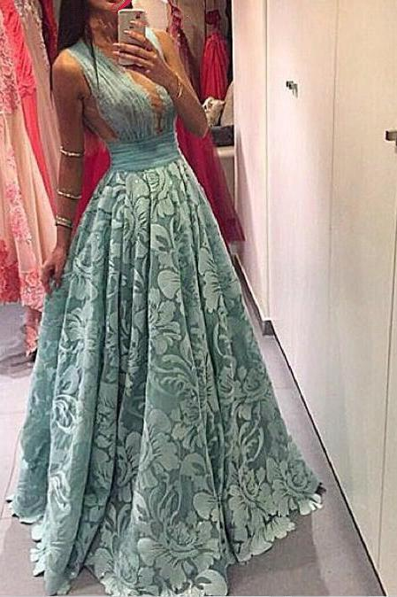 Cheap prom dresses 2017,Luxury Prom Dresses, V Neck Prom Dress,Ball Gown Prom Dresses,
