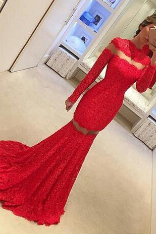 Cheap prom dresses 2017,Special High Neck Red Prom Dresses