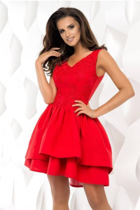 Cheap homecoming dresses 2017,2017 Red Ball Gown Homecoming Dresses